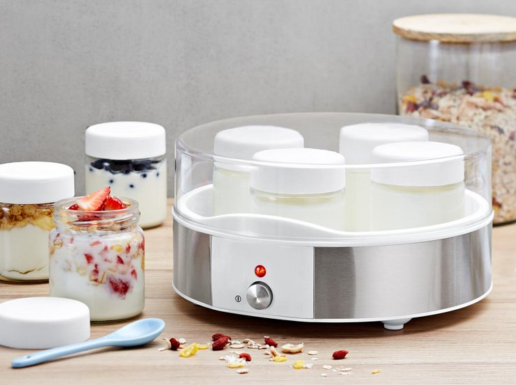 Материал изготовления корпуса, чаши и крышки йогуртницы