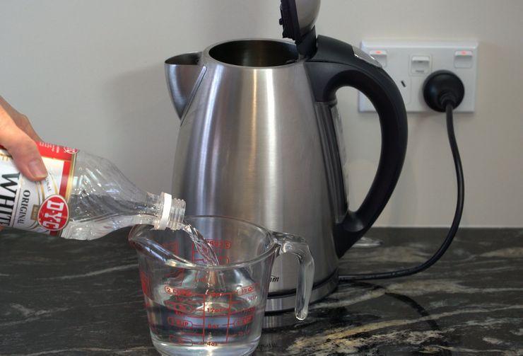 Уксусная кислота от запах в чайнике