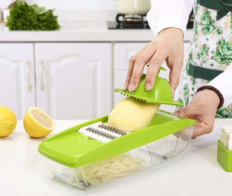 Как пользоваться овощерезкой ручного типа