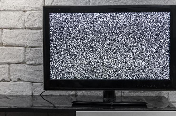 Почему в жк телевизоре звук есть, изображения нет