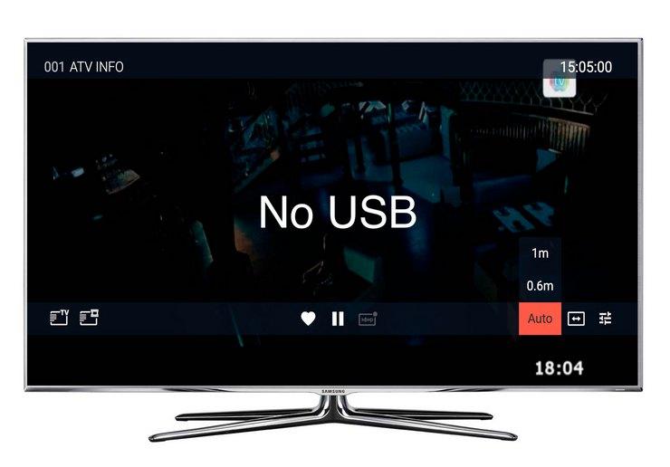 Форматы телевизора и флешки не совместимы