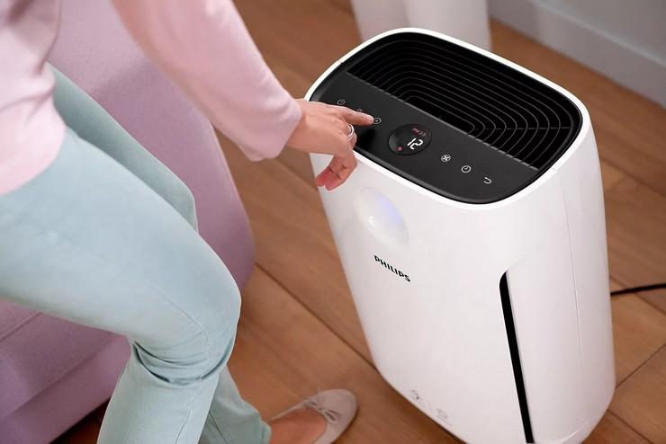 Дополнительные функции очистителя воздуха