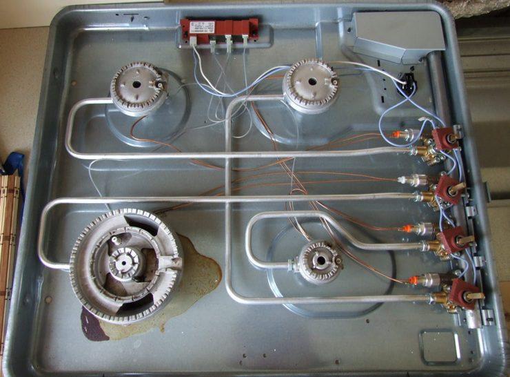 Проведение ремонта электроподжига