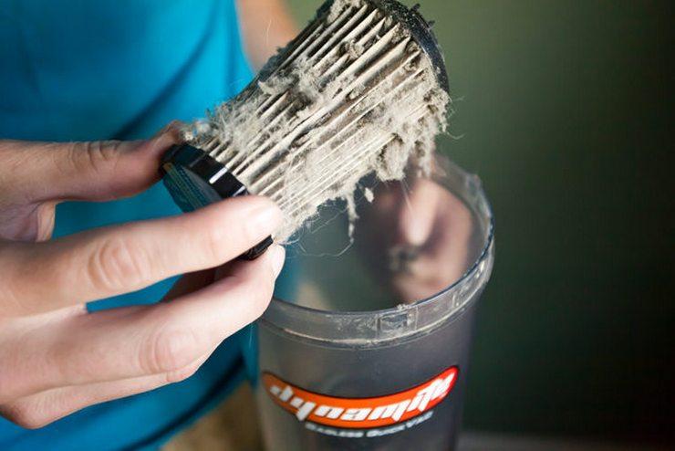 Можно ли мыть фильтр от пылесоса?
