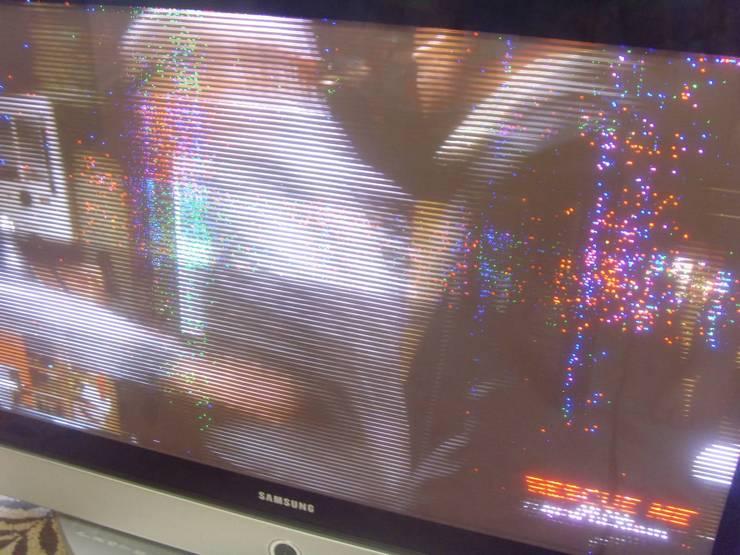 Моргание экрана у спутникового ТВ