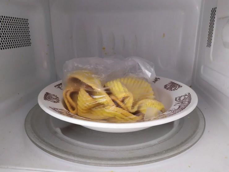 Можно ли стирать кухонные полотенца в микроволновке