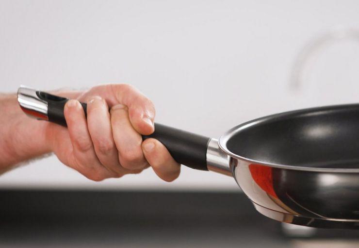 Материал изготовления ручки сковороды