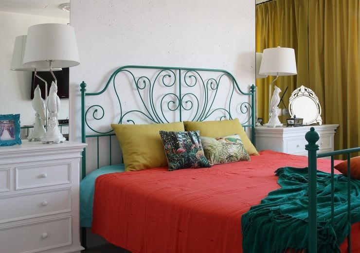 Как сделать спальню в стиле ретро