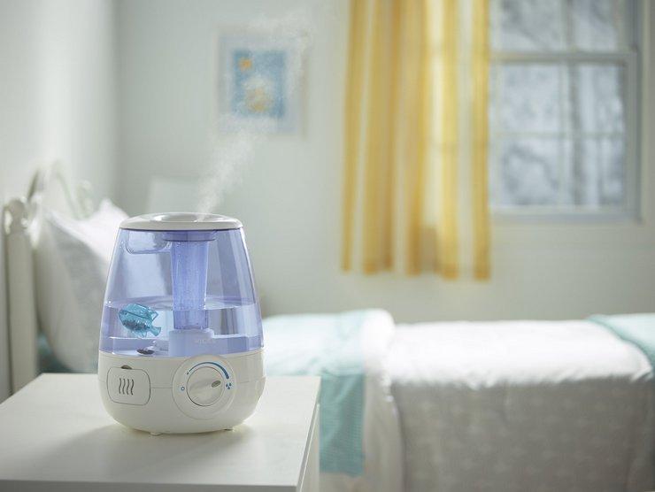 Как использовать увлажнитель воздуха без вреда здоровью