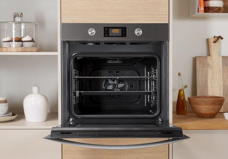 Первый запуск духовки в электроплите