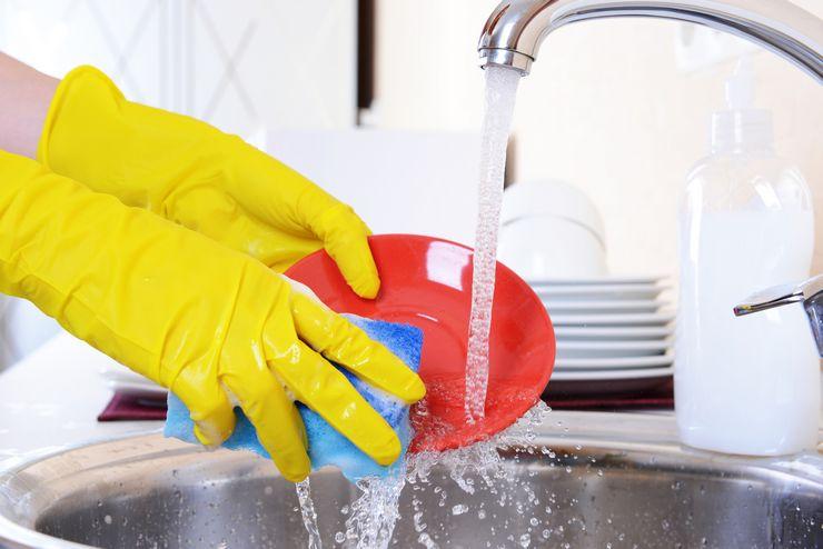 Как мыть посуду быстро и правильно