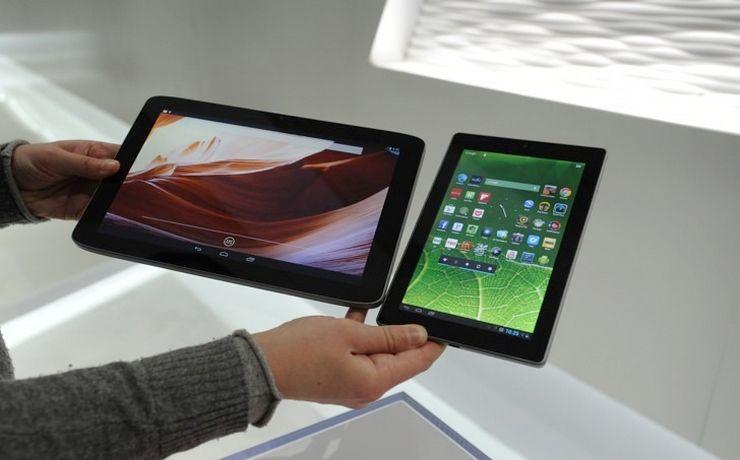 Какие бывают размеры планшетов в сантиметрах