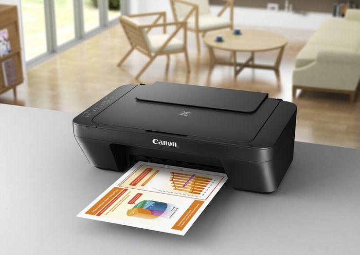 Струйный цветной принтер