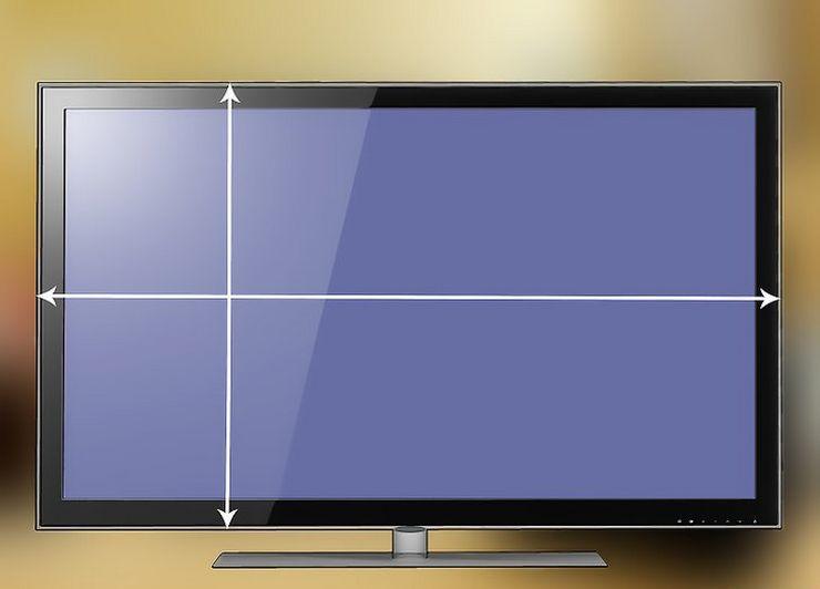 Таблица размеров экрана в см и дюймах