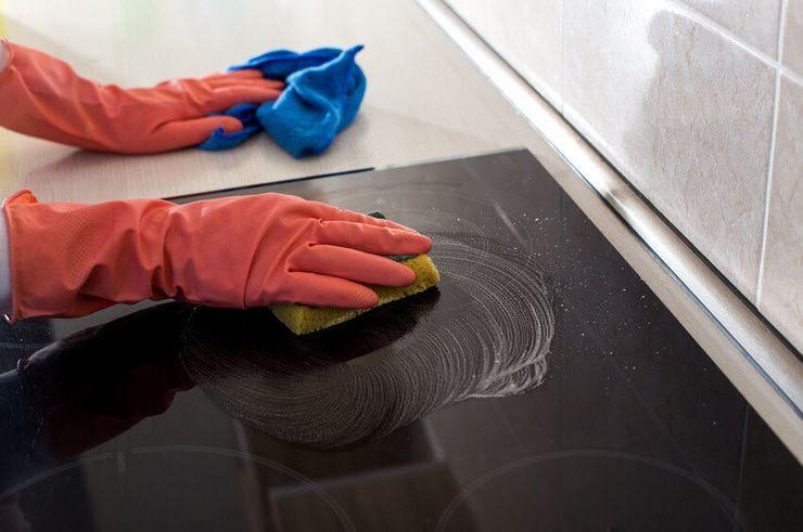 Чем чистить стеклокерамическую варочную панель