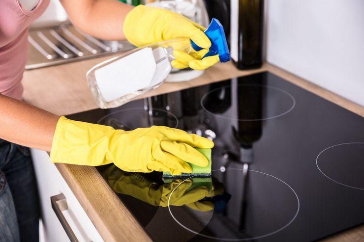 Чем отмыть варочную панель из стеклокерамики