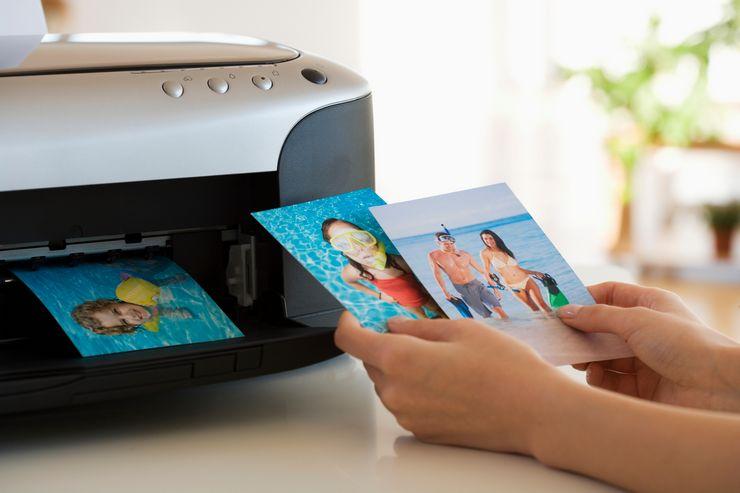 Как распечатать фото на принтере с компьютера