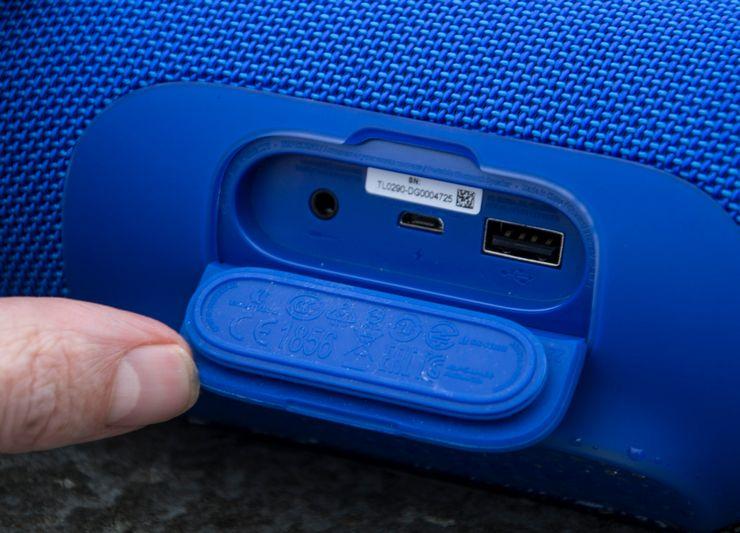 Подключение JBL при помощи USB и AUX провода