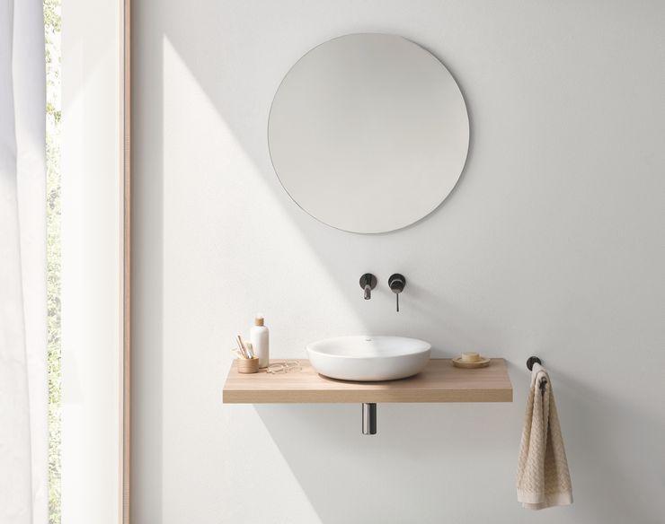 Как прикрепить зеркало без рамы