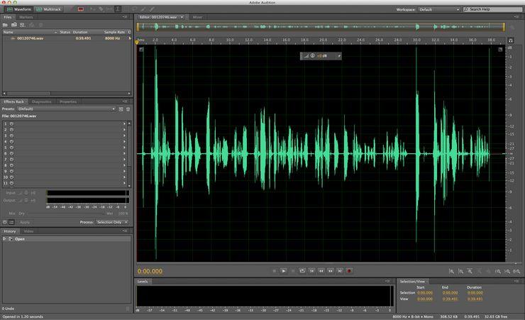 Программа Adobe Audition